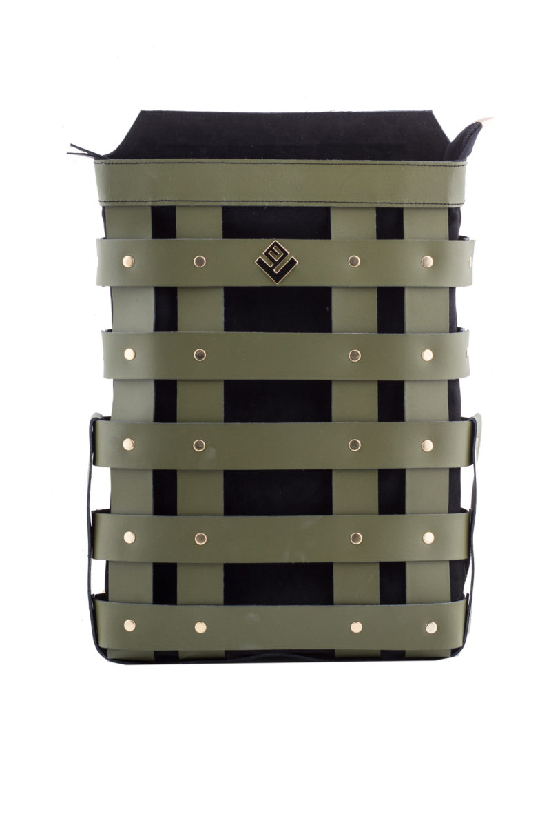 claudia backpack olive black