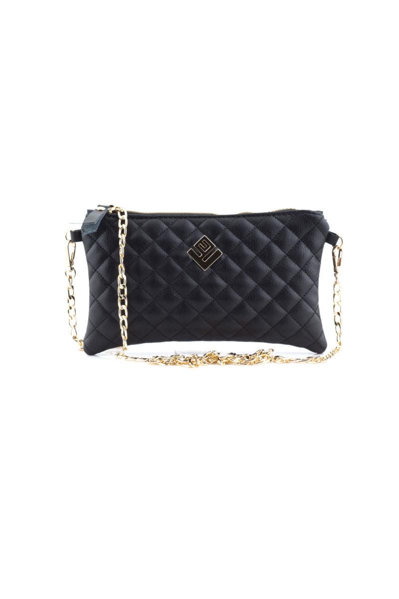 elegant remvi handbag black