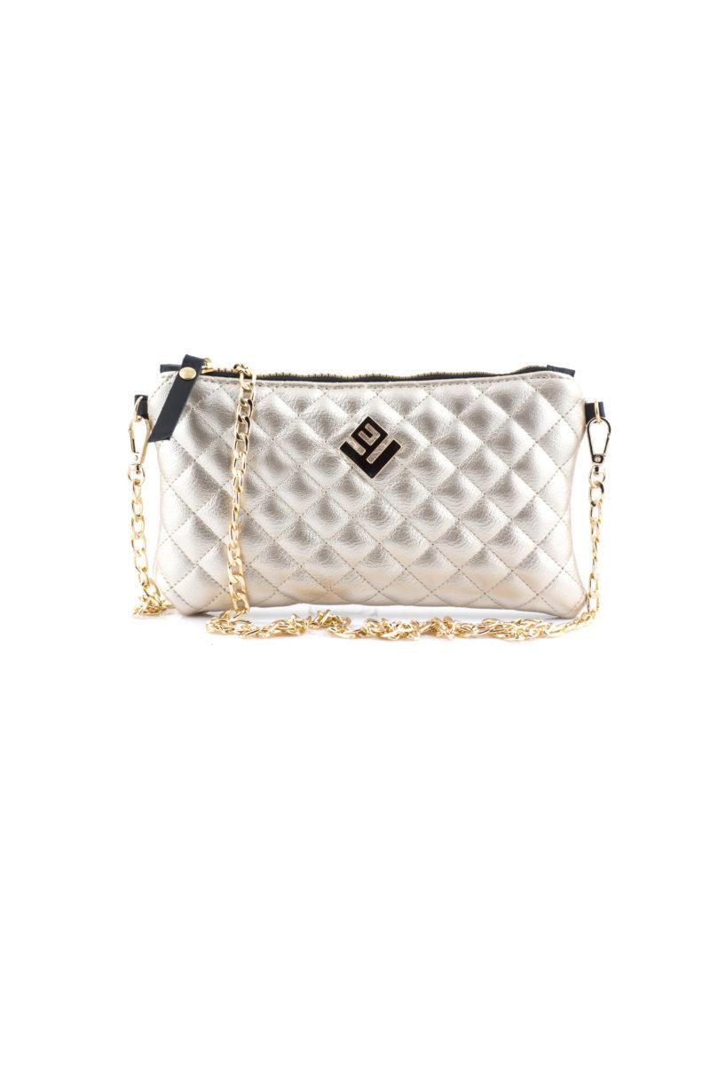 elegant remvi handbag gold