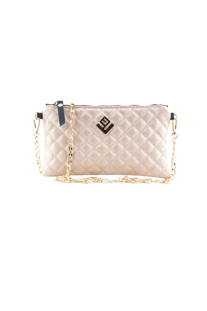 elegant remvi handbag rosegold