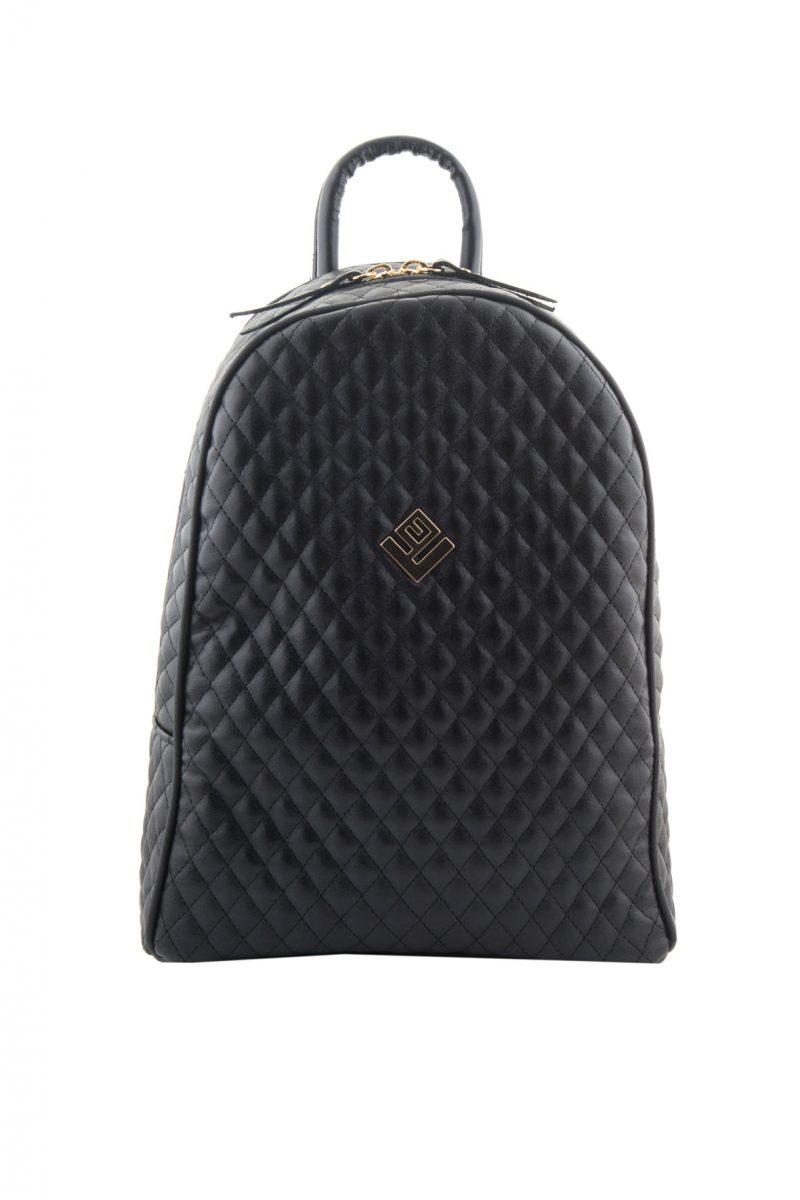 Basic Simple Remvi Backpack Black