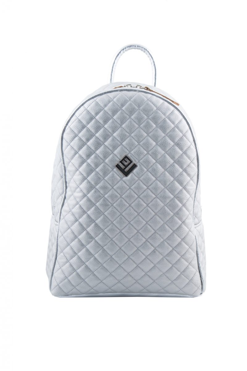 Basic Simple Remvi Backpack Silver