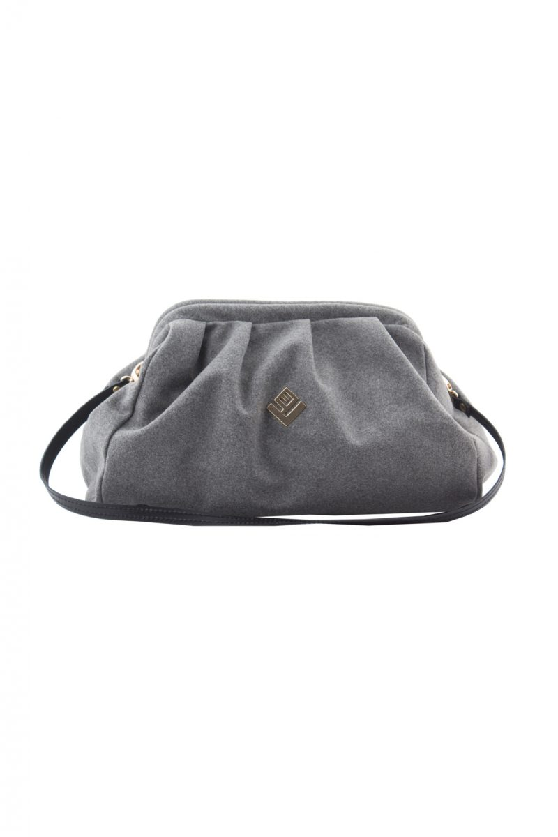 Paris Felt Handbag Grey